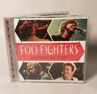 MUSIC DVD  - Foo Fighters - Everywhere But Home (DVD, 2003, Jewel Case) Used