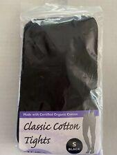 Maggies Functional Organics Classic Cotton Tights Women Black Small