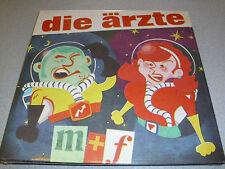 """Die Ärzte -  M + F - 12"""" Single Vinyl /// Neu &OVP /// M & F"""