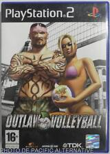 COMPLET jeu OUTLAW VOLLEYBALL sur playstation 2 sony PS2 sport plage francais