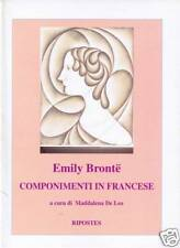 Emily Bronte - COMPONIMENTI IN FRANCESE