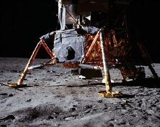 Apollo 11 Mond Modul On Moon Nasa 11x14 Silber Halogen Fotodruck