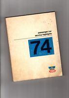 1974 CHRYSLER Service / Repair (highlights) Manual:Dodge,Plymouth,360,440,Parts,