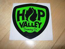 HOP VALLEY BREWING alphadelic citrus mistress STICKER decal craft beer brewery