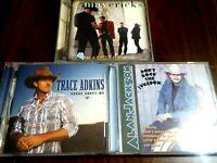 Trace Adkins, The Mavericks, Alan Jackson ~ 3 CD Lot ~ Country Music
