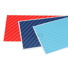 Carbon Fiber 3 Color  Stripe Decal Vinyl Sticker Grille Decor Fit For BMW  /