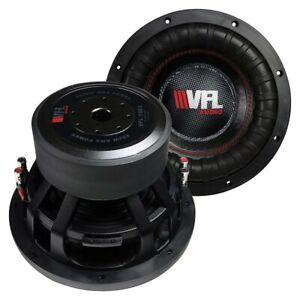 """X1 VFL VFL10D4 10"""" Woofer, 800W RMS/1600W Max, Dual 4 Ohm Voice Coils"""