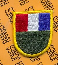 US Army SETAF Southern European Task Force Airborne beret flash patch B m/e