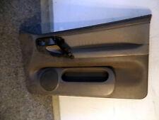 VW Polo 6N Türverkleidung Türpappe vorne rechts Leder Lederausstattung grau 0689