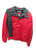 Coca-Cola Red Jacket with Black and White Checkered Trim Small - BRAND NEW