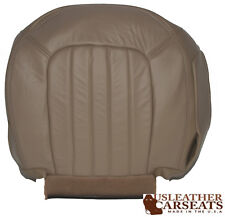 2002-2005 Mercury Mountaineer Driver Side Bottom Leather Seat Cover Tan