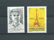 FRANCE - 2003 YT 3544 à 3545 - TIMBRES NEUFS** MNH LUXE