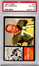 1962 Topps #73 Bill Forester PSA 4 Packers