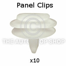 Clips garniture panneau Bodyside renault vel satis / scenic mk iii 10 Pack partie 10077re