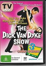The dick van dyke show 3 classic episodes(DVD) VGC Pre-owned (D118)