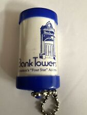 Vintage Scranton Pa Bank Towers Keychain Flashlight Scranton Advertising