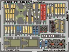 EDUARD MODELS 1/48 Aircraft- Seatbelts F104G Starfighter for HSG (Pain EDU49036