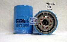 WESFIL OIL FILTER Z502 Z416 FOR Nissan Patrol GQ 2.8L TD1994-12/97 RD28T TURBO