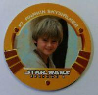 Rare: 1999 KFC/Taco Bell Star Wars Episode 1 Game Medallion Anakin Skywalker #7