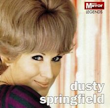 promo newspaper cd  DUSTY SPRINGFIELD live 60s songs pop music