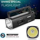 8000LM Waterproof CREE XML2 T6 LED Scuba Diving Underwater 100M Flashlight Lamp