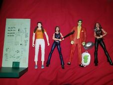 buffy angel figures fred cordelia lorne x4 and accessories