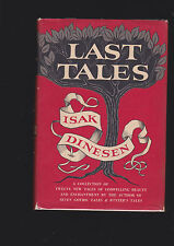 ISAK DINESEN.LAST TALES.IST EDITION HARDCOVER IN JACKET