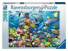 RAVENSBURGER  PUZZLE  2000 PIECE. UNDERWATER. ITEM.NR.16682. NEW