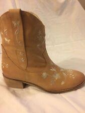 Women's Kurt Geiger boots Camel leather size 41
