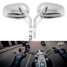 Chrome Motorcycle Mirrors For Harley Davidson FLTRX Road Glide FLHX Street Glide