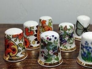 England Bone Gold Trim Finsbury China Flowers, Butterflies, Mill, Paisley Design