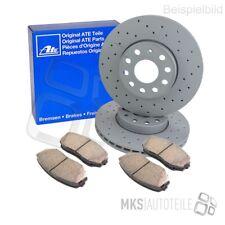 für MERCEDES-BENZ ATE2 Bremsscheiben Voll 258 mm Bremsbeläge Hinten u.a