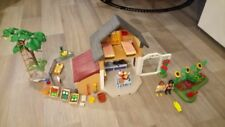 Playmobil 5120 - Maison des fermiers et marché TBE