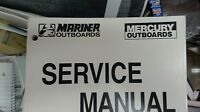 MERCURY SERVICE MANUAL 90-825572R1 40, 50, 55 and 60 HP