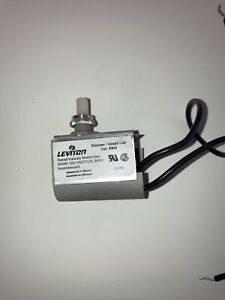 Leviton Full Range Lamp Dimmer Heat Control Style A Offset Shaft 300W 120V 6304