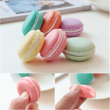 2Pc Cute Macarons Mini Earphone Bag Jewelry Bag Pouch Storage Case Box Container