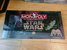 Star Wars Monopoly Unopened Limited Collector's Edition; Parker Brothers; 1996.