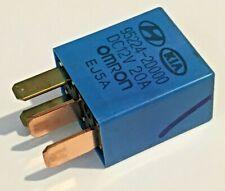 95224-2D000 Genuine Hyundai & Kia (00-17) Multi-Use 4-Pin Blue Relay 12V 20A