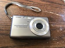 Casio Exilim EX-Z75 Digital Camera 7.2MP, For Parts Or Not Working