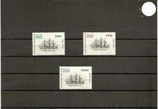 "Chile 1975 SG749/753/757 3v NHM 500/800/1000E-""Baquedano""-Sail Steam Corvette"