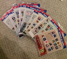 CELEBRATE THE CENTURY STAMP SHEETS 1900 - 1990 UNOPENED COMPLETE SET