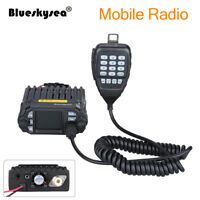 Blueskysea Dual Band Mobile Radio KT-8900D VHF UHF 25W Color Screen 4-Standy+Mic