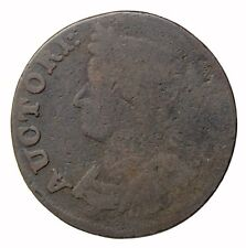 1786 Connecticut Mailed Bust Left Colonial Copper Coin Miller 5.9-b.1
