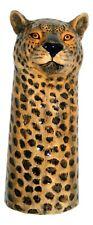 Leopard Flower Vase by Quail Pottery Ceramics - Large
