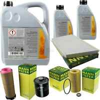 Inspektionspaket 7L Mercedes Öl 229.51 5W30 + MANN Filterpaket 11104688