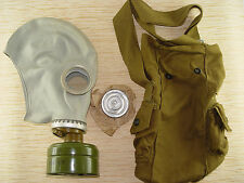 Russian Military Soviet Gp-5 Gas Mask Grey filter bag. New. All Size Nos New