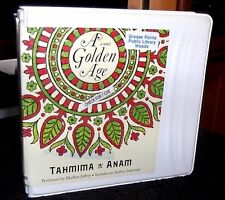 A Golden Age by Tahmima Anam / Madhur Jeffrey Unabridged Audiobook CDs