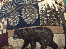 Peters Cabin Stone Tapestry Fabric