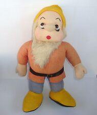 Poupée ancienne Disney Blanche Neige vintage doll Snow White : Atchoum Sneezy