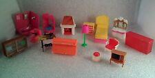 15 Hong Kong  Doll House  Furniture  Pink Bathroom  Hard plastic Approx 2.5 inch